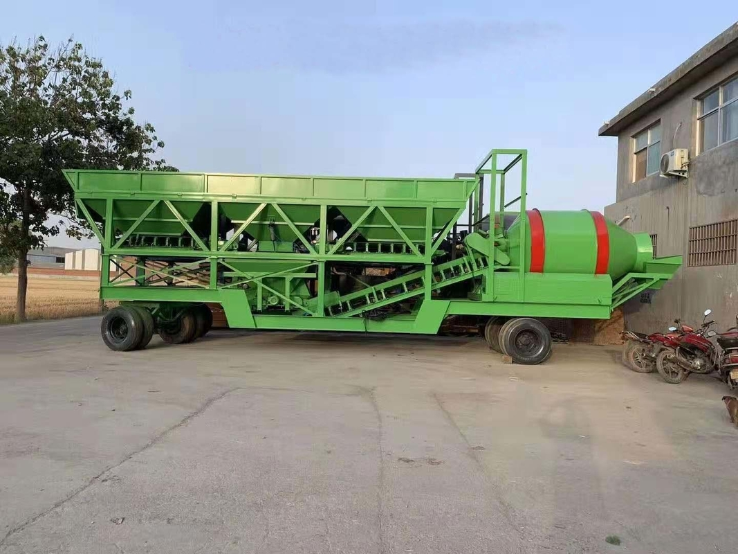 China Dry Mix Concrete Batching Plant Manufacturers